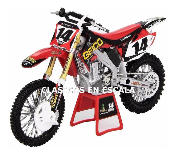 Honda #14 Crf450r - Kevin Windham - Moto New Ray 1/12