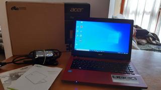 Notebook Acer Aspire E 14 Excelente Estado Como Nueva