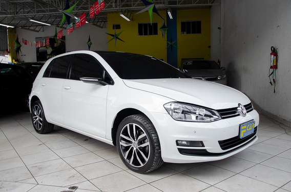Vw Golf Highline 1.4 Flex 2017 Top C/teto Recuperado De Segu