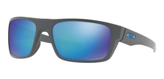 Oakley Drop Point - Matte Dark Grey - Prizm Sapphire Polar.