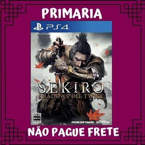 Sekiro Shadows Die Twice Ps4 Original 1 Vitalícia Garantia
