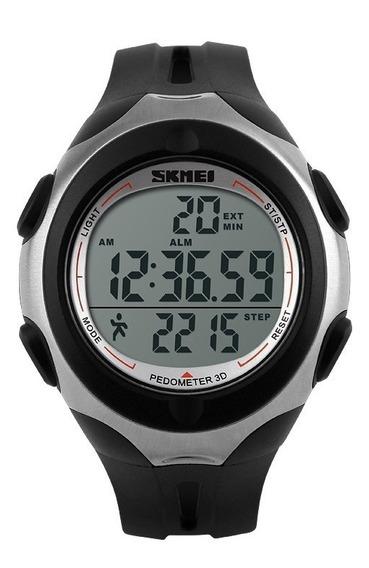 Relógio Skmei Treino Feminino Digital Esportivo Led Promoção