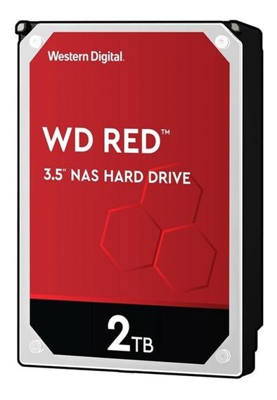 Wd Red 2tb Wd20efrx: Aprimore Seu Servidor Nas Com 2tb Da Wd