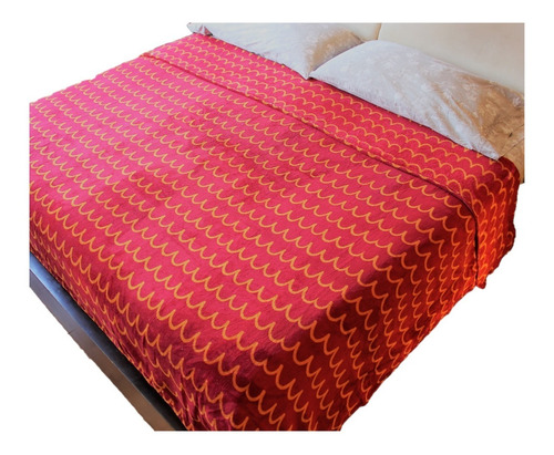 Imagen 1 de 5 de Cobertor King Size Hotelero Súper Suave Colorido Calientito