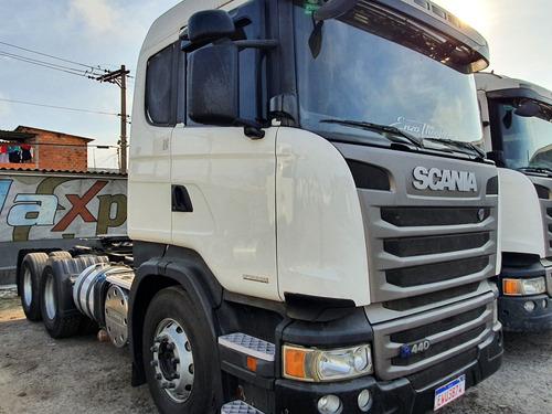 Imagem 1 de 10 de Scania 440 Truck 6x2 Ano 2014