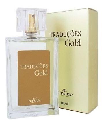 Perfumes Traduções Gold 100ml- Masculino & Feminino Promoção