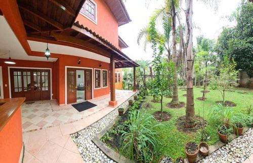 Residencial Forest Hills - Casa Com 5 Dormitórios À Venda, 470 M² Por R$ 4.200.000 - Jardim Paramount - São Bernardo Do Campo/sp - Ca0666