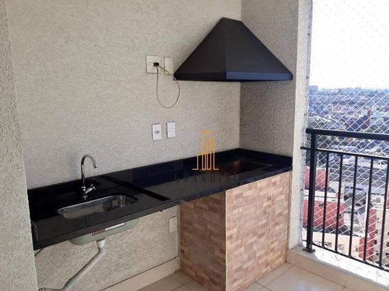 Apartamento Com 2 Dormitórios À Venda, 71 M² Por R$ 400.000 - Planalto - São Bernardo Do Campo/sp - Ap1558
