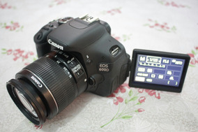 Canon T3i / 600d E Lente 18-55mm Ef-s