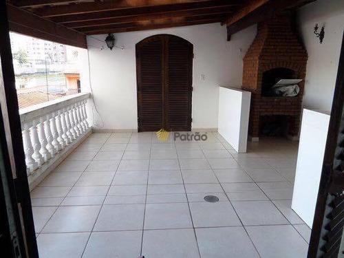 Imagem 1 de 25 de Casa Com 4 Dormitórios À Venda, 224 M² Por R$ 689.000,00 - Vila Gilda - Santo André/sp - Ca0527