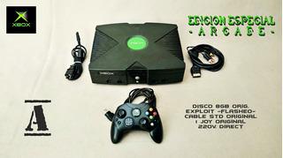 Xbox Clásico Chequeada Al 100% - Sin Cucarachas -