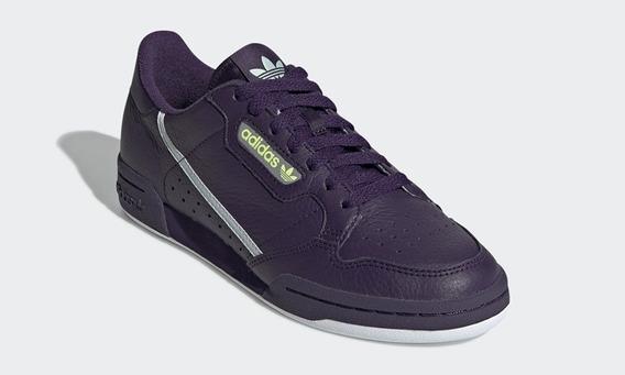 Tênis adidas Original Continental 80 Feminino Roxo