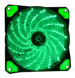 Ventilador 120 Mm Led Pc Gamer Alto Flujo Gabinete Atx Colores Naceb