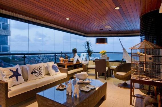 Apartamento Com 4 Dormitórios À Venda, 449 M² - Petrópolis - Natal/rn - Ap0067