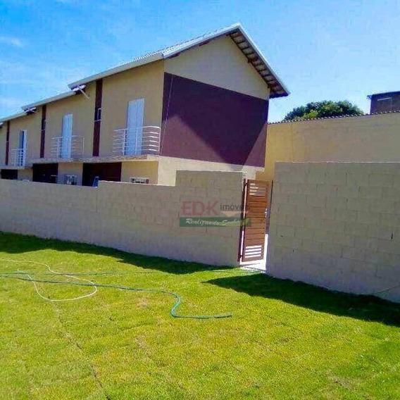 Casa Com 2 Dormitórios À Venda, 69 M² Por R$ 350.000 - Mogi Moderno - Mogi Das Cruzes/sp - Ca3606