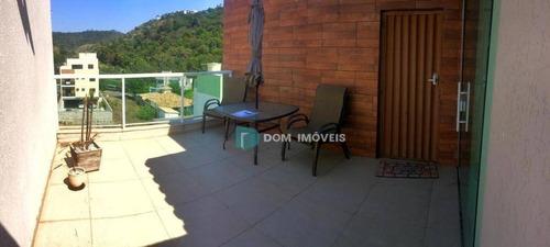 Cobertura Com 3 Dormitórios À Venda, 175 M² Por R$ 460.000,00 - Recanto Da Mata - Juiz De Fora/mg - Co0206