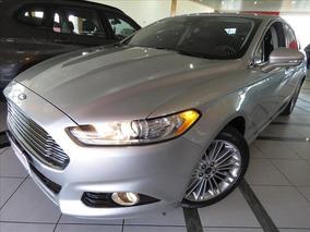 Ford Fusion Titanium Gtdi 2.0 Fwd 2015 Prata