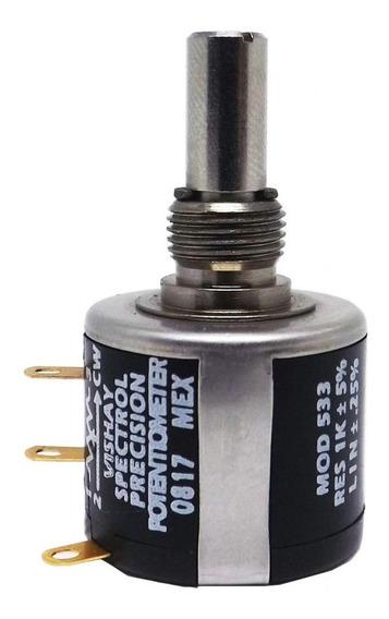Potenciometro Multivoltas 1k 534-1-1-102 Spectrol_vishay