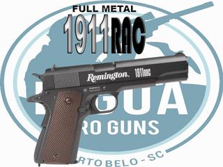 Pistola Remington 1911 Rac Co2 - Esfera De Aço