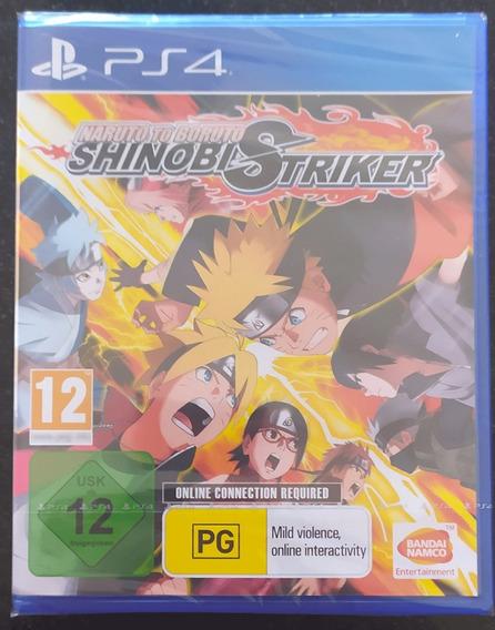 Naruto To Boruto Shinobi Striker Ps4 Com Season Pass Novo