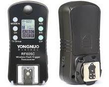 Rádio Flash Yongnuo Rf-605c Ttl Para Canon