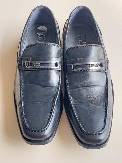 Zapato De Cuero Guess Hombre
