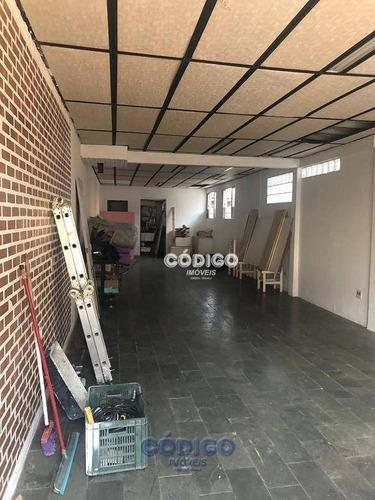 Imagem 1 de 8 de Salão Para Alugar, 75 M² Por R$ 1.150,00 - Vila Galvão - Guarulhos/sp - Sl0013