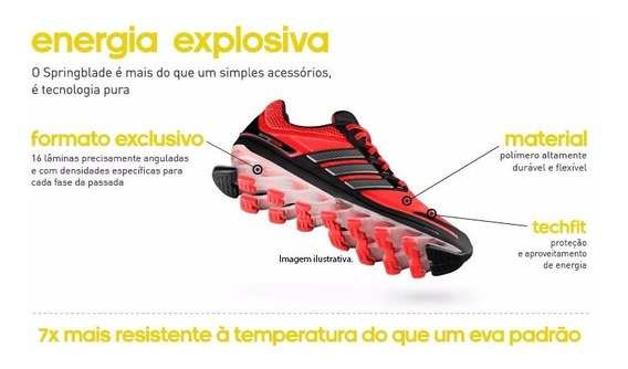 Tênis adidas Springblade Laranja