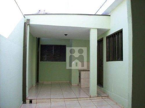 Imagem 1 de 19 de Casa Com 3 Dormitórios À Venda, 188 M² Por R$ 299.000,00 - Ipiranga - Ribeirão Preto/sp - Ca1042