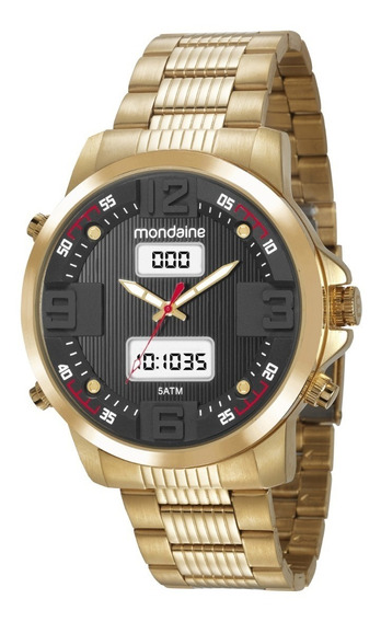 Relógio Mondaine Masculino 99355gpmvds2 Digital