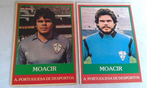 Ping Pong Futebol Cards Moacir A E B Portuguesa 75