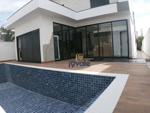 Casa Com 3 Suítes À Venda, 370 M² No  Condomínio Fechado Sunset Garden Em Jacareí/sp - Ca1762