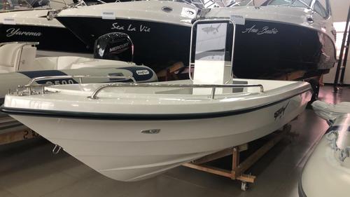 Imagem 1 de 8 de Barco De Pesca Squalo 155 Com Motor 50hp 2t Mercury