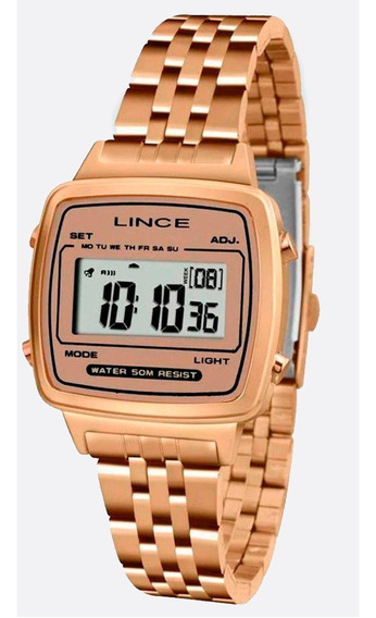 Relógio Lince Feminino E Masculino Sdrh041l Bxrx Rosê