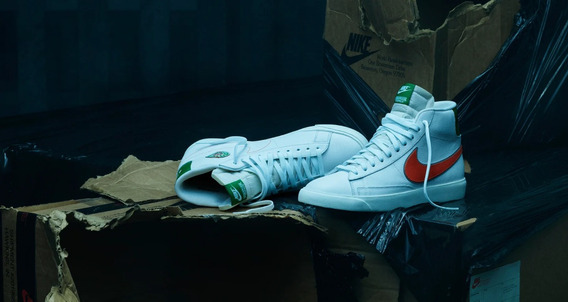 Tênis Nike X Stranger Things Blazer Mid Hawkins High - 44
