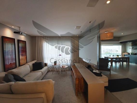 Inifita Campolim - 4 Dormitóros Sendo 03 Suítes - Sala 3 Ambientes - Varanda Gourmet Integrada - Cozinha - 03 Vagas - Lazer Completo - Ap00276 - 34608097