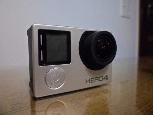 Câmera Digital Gopro Hero4 Silver 4k 12mp Display Wi-fi Bt