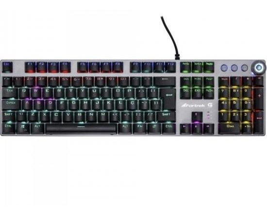 Teclado Gamer Fortrek Mecânico Pro K7 Rainbow