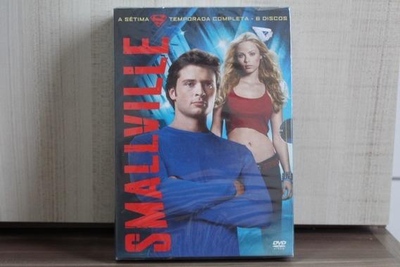 Dvd Smallville 7º Temporada - Lacrado (achados)