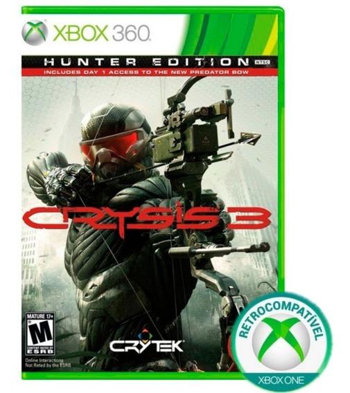 Crysis 3 Hunter Xbox 360 Xbox One Mídia Física Lacrado Nfe