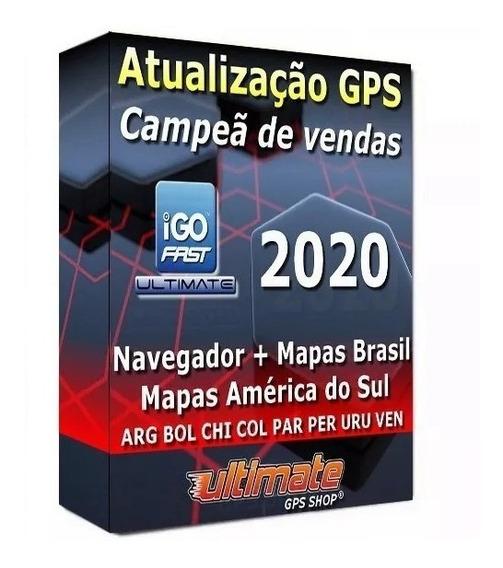 Atualização Gps Igo Primo Fast Ultimate Titanium