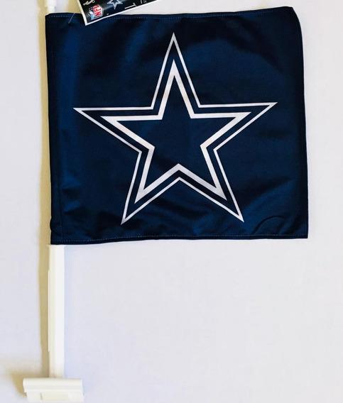 Bandera Para Auto Dallas Cowboys, Producto Oficial Nfl