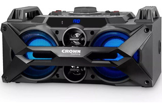 Parlante Portatil Crown Mustang 7000 W. Usb Bluetooth