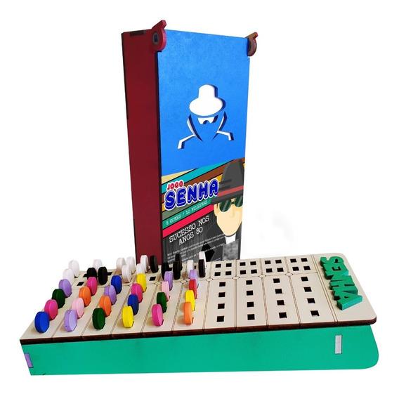 Jogo Senha Com 10 Fileiras ( Mastermind ) Kit Com 3 Uni