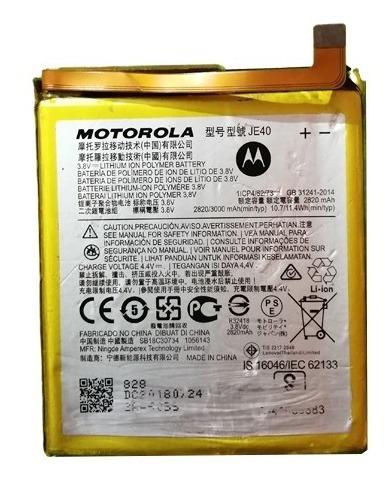 Bateria Celular Motorola One Je40 3000 Mah