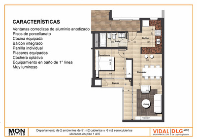 Hermosos Departamentos A Estrenar 2 Amb. 47m2 Y 57m2, Nuñez!