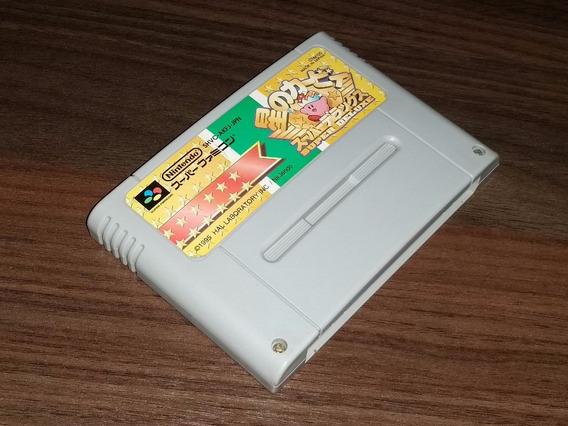 Kirby Deluxe Original Snes/sfamicom + Frete Grátis! N-03