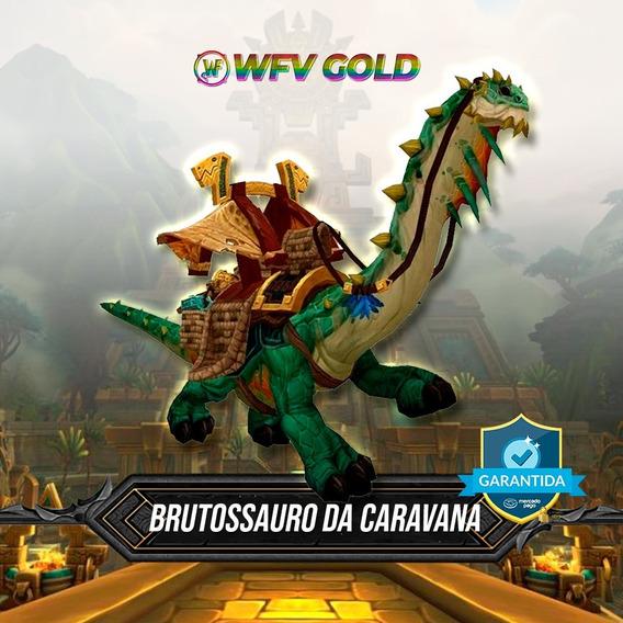 Poderoso Brutossauro Da Caravana Wow