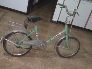 Bicicleta Plegable Anabella Sin Uso Década Del 80 Nueva !!!