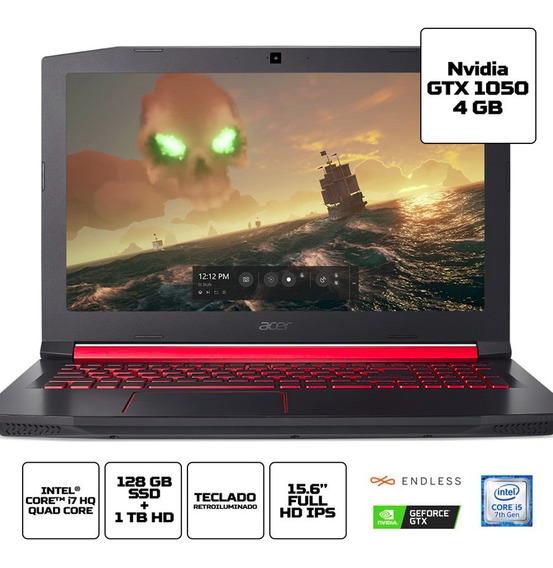 Acer Nitro 5 I5 Fullhd Ips Gtx1050 Ram 8gb Ssd 128 Hd 1tb